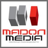 Madon Media Partner Filmowy Druk plakatów i ulotek Logotyp
